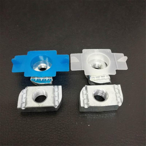 Plastic Cover Plain Channel Nuts