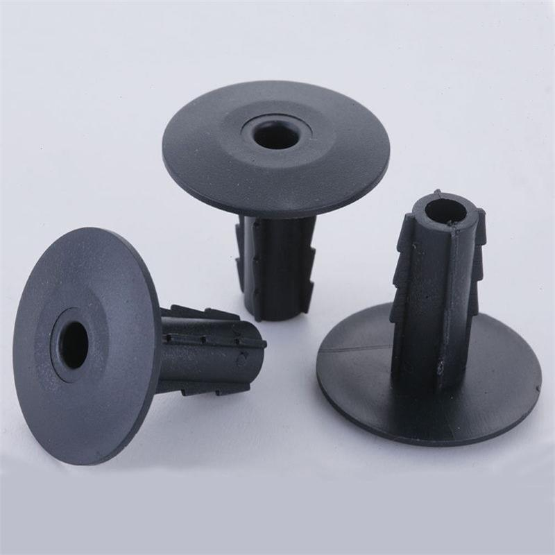 Feed Through Wall Bushing Black 5.2 mm