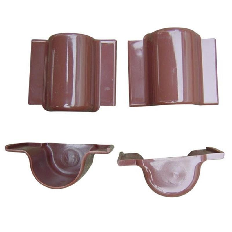 Cable Riser Guard End Cap Brown