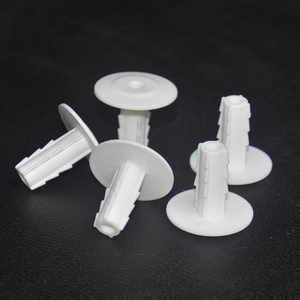 Feed Through Wall Bushing White 5.2 mm