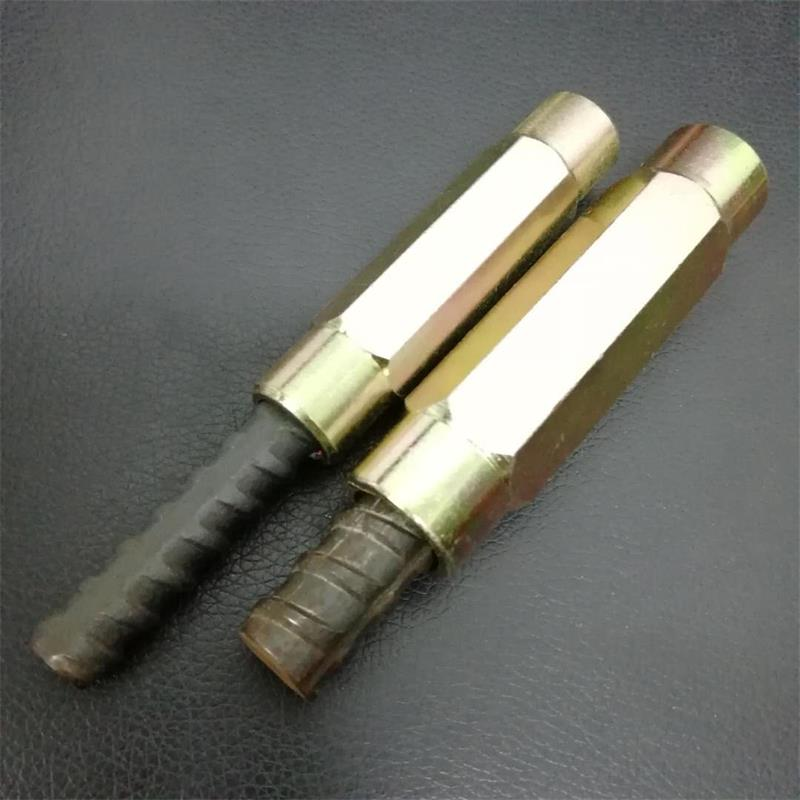 Hex Rebar Connectors Round Heads