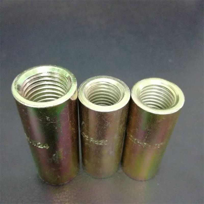 Round Threaded Rebar Coupler